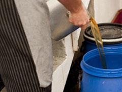 Subproducto aceite Aceites vegetales usados