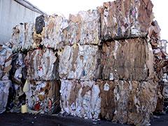 Subproducto papel y cartón Mezcla sin clasificar