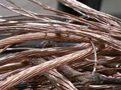 Metales no férricos Cobre: Pletina, Tubo, Hilo, Cable, etc.
