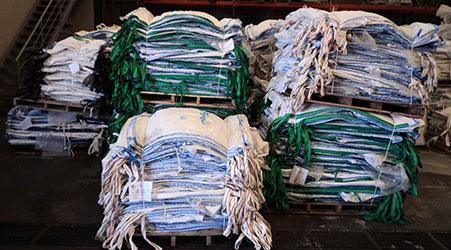 Lavado de big bags proceso 2