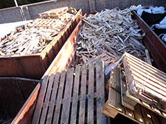 Subproducto madera Calidad C, rotos