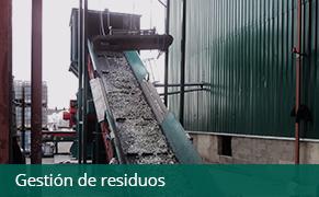 Gestión de residuos CTR Mediterráneo