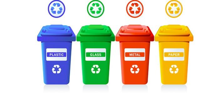 caída de la tasa doméstica reciclaje en verano